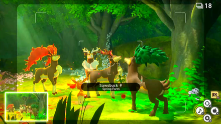 Take a Photo of all Four Sawsbuck Howling.png