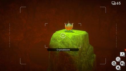 New Pokemon Snap - Illumina Spot (Fireflow Volcano) Crystabloom3