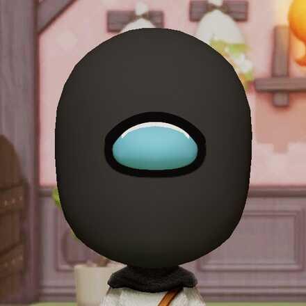 Miitopia Access Key Crewmate (Black)