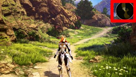 Tales of Arise - ориентация мини-карты