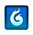 Blue Breath Icon
