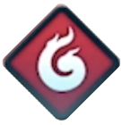 Red Breath Icon