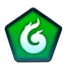 Green Breath Icon