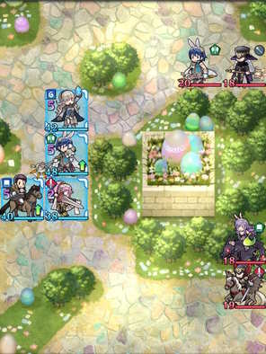 Paralogue 4-1 map