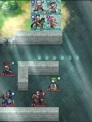 Paralogue 3-3 map