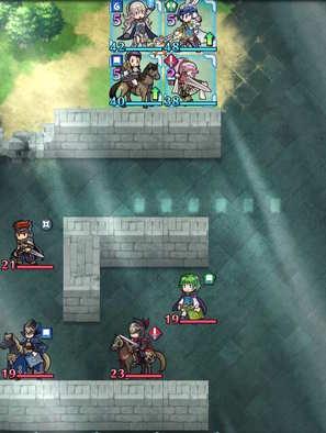 Paralogue 3-3 map